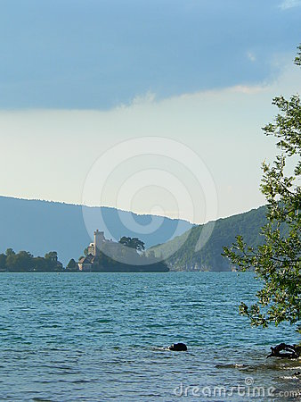 Lac d Annecy ( France )