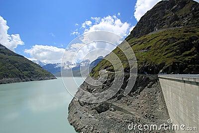 Lac des Dix and dam, Grande Dixence, Switzerland