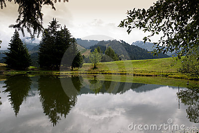 Lac Des Joncs in Zwitserland