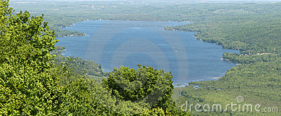 Lac Honeoye, Lacs Finger Images stock - Image: 9673984