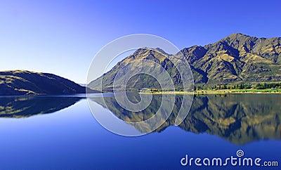 Lac Wanaka, Nouvelle Zélande
