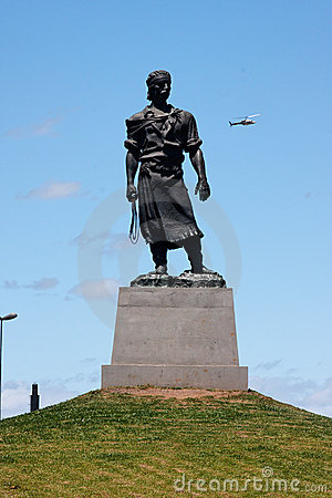 The Lacador Statue