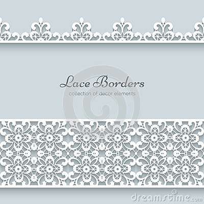 Free Lace Borders Stock Photo - 40963750