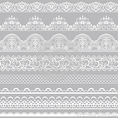 Free Lace Borders Stock Image - 44573581