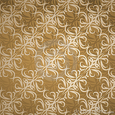 Lace brown background