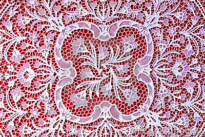 Lace handwork