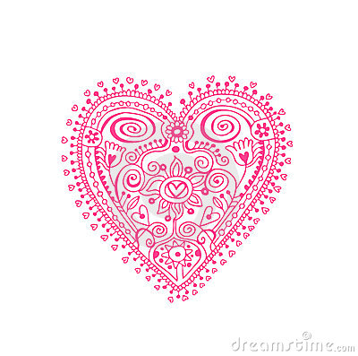 Free Lace Heart Royalty Free Stock Photography - 15048567