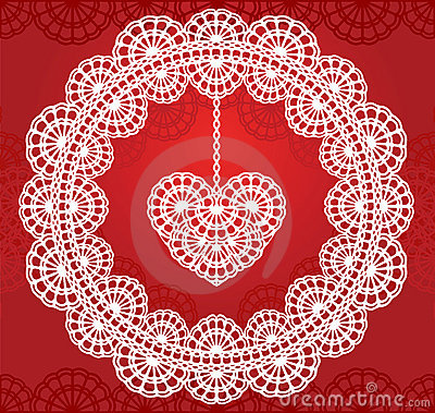 Lace heart 2