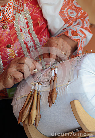 Lace making