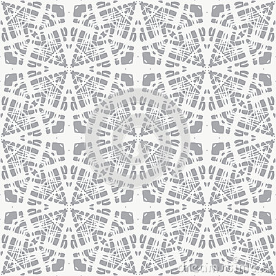 Free Lace On Grey, Simple Vector Geometrical Pattern Stock Photos - 28498163