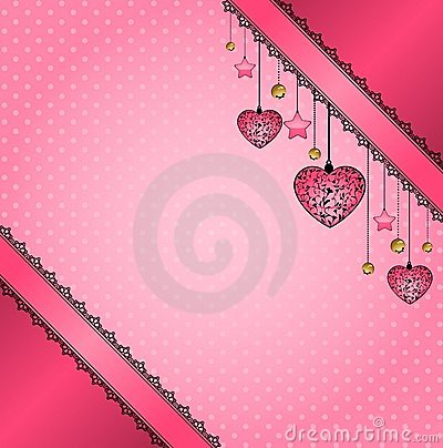 Lace ornaments and heart