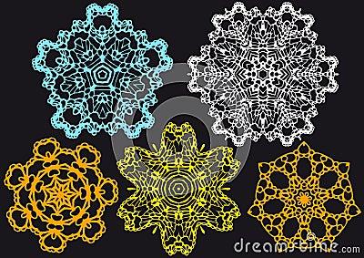 Lace pattern,