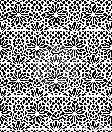 Free Lace Seamless Pattern Stock Image - 30097861