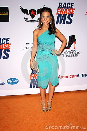 Lacey Chabert at the 19th Annual Race To Erase MS, Century Plaza, Century City, CA 05-19-12 Editorial Image