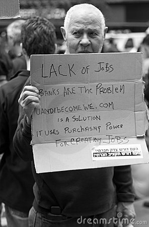 Lack of jobs Editorial Photo