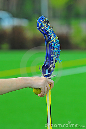Lacrosse Girls stick hand off