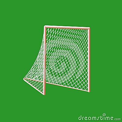 Lacrosse  goal.