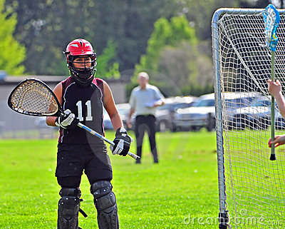Lacrosse goalkeeper