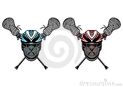 Lacrosse Helmets And Sticks EPS