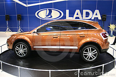 Lada C-Cross Editorial Photography