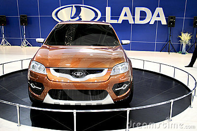 Lada C-Cross Editorial Image