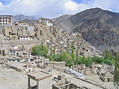 Ladakh, India, kind on Hamayuru