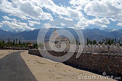 Ladakh stupas