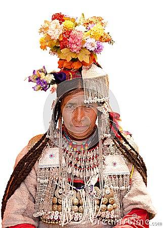 Ladakh Woman Editorial Photography