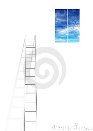 Free Ladder Royalty Free Stock Photos - 2834378