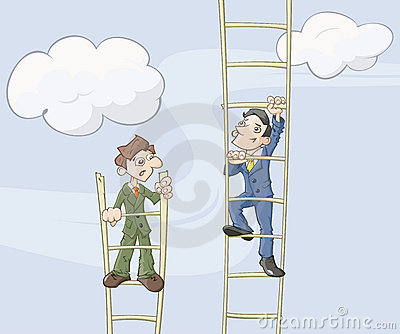 The ladder of career