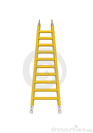 Ladder with clipping path