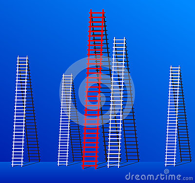 Ladder of success.