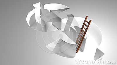 A ladder to come out from Dollar