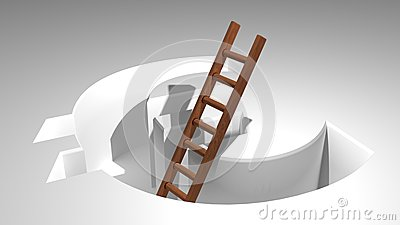 A ladder to come out from Euro