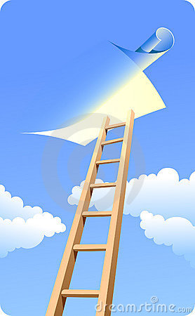 Free Ladder To Sky (day) Stock Image - 14803911