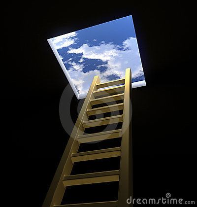 Free Ladder To The Heavens Royalty Free Stock Photos - 12745998