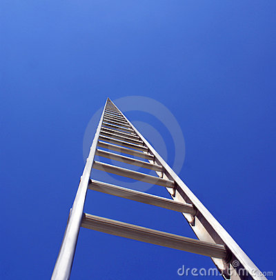 Free Ladder To The Sky Royalty Free Stock Image - 1455496
