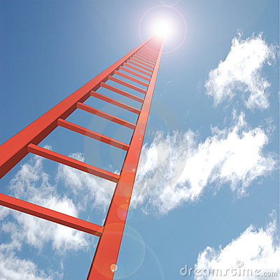 Free Ladder To The Sky Stock Photos - 15834003