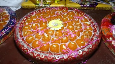 LADDU NAME INDIAN SWEETS RUNDFORMER stock video