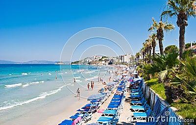 Ladies Beach Kusadasi Turkey Editorial Photo Image