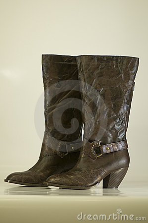 Free Ladies Boots Stock Images - 5287104