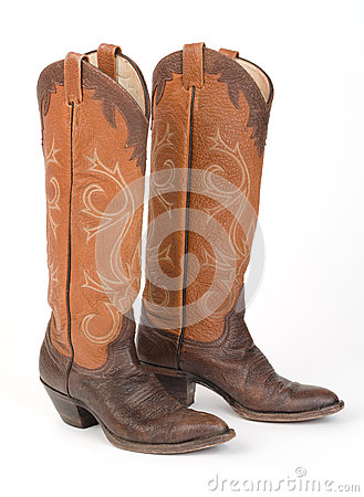 Free Ladies Cowboy Boots. Stock Photo - 37383920