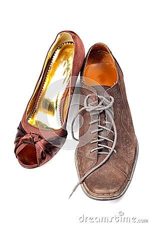 Ladies and gents footwear
