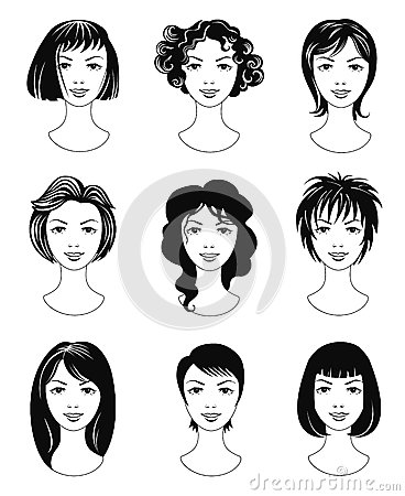Ladies haircuts