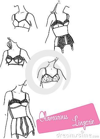 Ladies Lingerie - 1960s Royalty Free Stock Photo - Image: 8038135