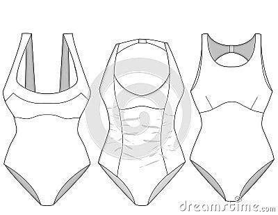 Ladies missy swimwear blocks_3