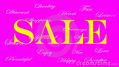Ladies Sale banner ad