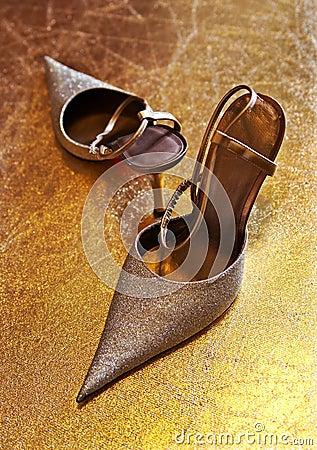 Free Ladies  Shoes On Heels Stock Photo - 3024370