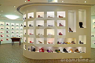 Ladies shoes store