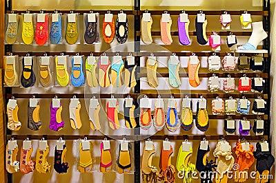 Ladies socks and sockettes